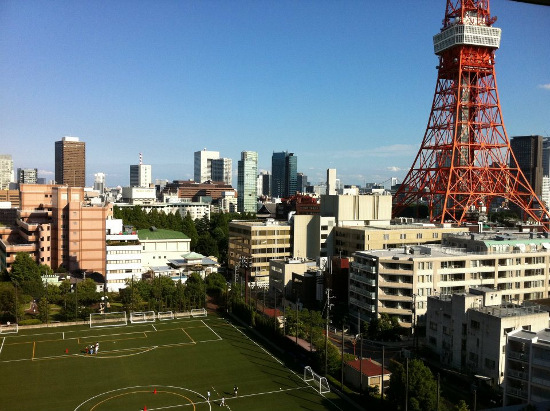 View from the Tsuru Capital office