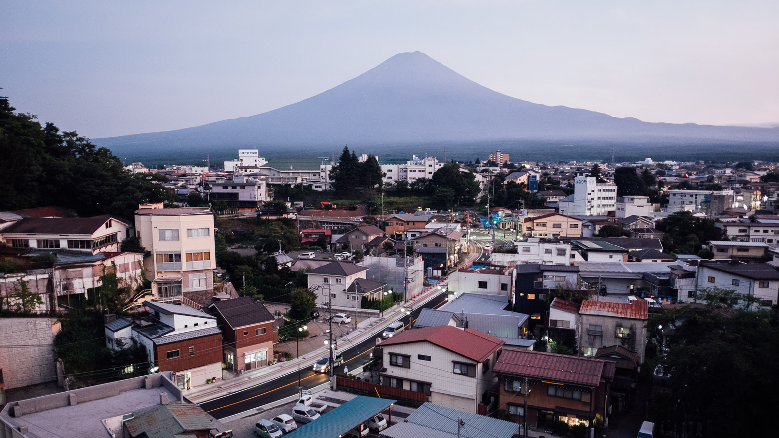 View of Mt. Fuji from Fujikawaguchiko